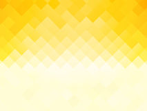 Abstract tile yellow background. Modern style Royalty Free Stock Images
