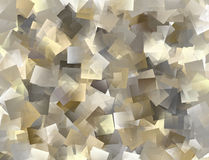 Abstract tiled background in grey, brown, yellow Royalty Free Stock Photography