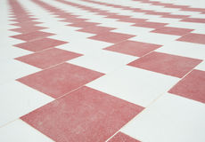 Abstract tiled floor pattern background wallpaper Stock Photo