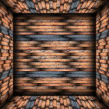 Abstract tiled interior backdrop Royalty Free Stock Image