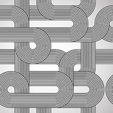 Abstract tiled pattern lines background. Abstract retro tiled pattern lines background. See more  illustrations in my portfolio Royalty Free Stock Images
