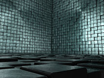 Abstract Tiled Room Royalty Free Stock Images