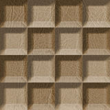 Abstract tiles stacked for seamless background Royalty Free Stock Photos