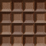 Abstract tiles stacked for seamless background Stock Image