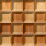 Abstract tiles stacked for seamless background Royalty Free Stock Images