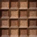 Abstract tiles stacked for seamless background Royalty Free Stock Photography