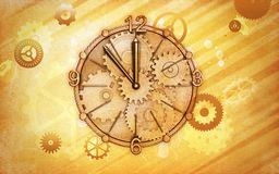 Abstract Time Background Royalty Free Stock Image