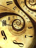 Abstract Time Background Stock Photo