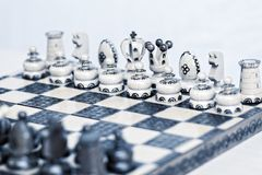 Abstract toned chess board Royalty Free Stock Image