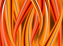 Abstract tongues of flame Royalty Free Stock Image