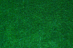 Abstract  top view green color of artificial grass background Royalty Free Stock Images