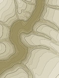 Abstract topographic map. Vector vector illustration