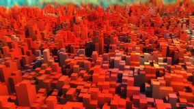 Abstract topography and colors. 3d rendering. Abstract topography and colors Stock Photos