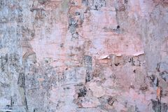 Abstract torn posters Royalty Free Stock Photography