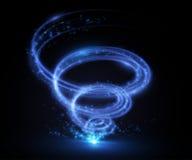 Abstract tornado swirl. Vector illustration. Royalty Free Stock Photography