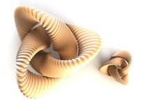 Abstract torus Royalty Free Stock Image
