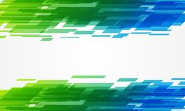 Abstract touch banner. Vector art illustration background Royalty Free Stock Photos