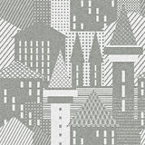 Abstract town. Architectural textured background. Illustration royalty free illustration