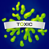 Abstract toxic vector color splash background Royalty Free Stock Image