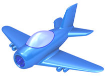 Abstract toy airplane Royalty Free Stock Photo