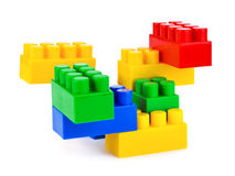 Abstract toy construction Royalty Free Stock Image