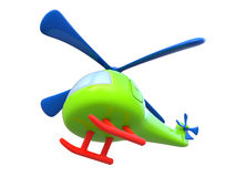 Abstract toy helicopter Stock Photo