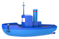 Abstract toy ship Royalty Free Stock Photos