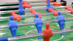 Abstract toy sport field, modern football game, Royalty Free Stock Images