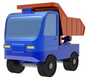 Abstract toy truck Stock Image