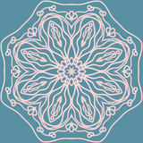Abstract tracery. Seamless vector pattern. Beautiful background Royalty Free Stock Photo
