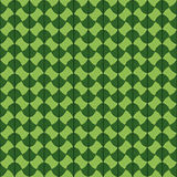 Abstract Traditional African Ornament. Green color. Seamless vec Stock Images