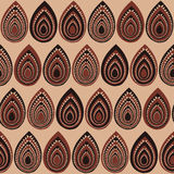 Abstract Traditional African Ornament. Seamless vector pattern. Stock Image