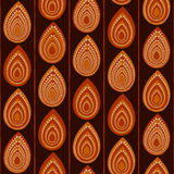 Abstract Traditional African Ornament. Seamless vector pattern. Royalty Free Stock Photo