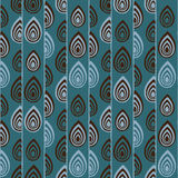 Abstract Traditional African Ornament. Seamless vector pattern. Royalty Free Stock Image