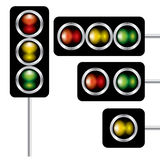 Traffic lights signal  Royalty Free Stock Photo