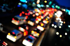 Abstract traffic Stock Image