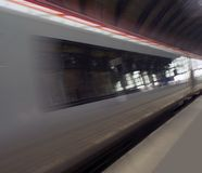 Abstract train speed. Abstract train blurred speed. against abstract background Stock Image