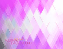 Abstract translucent purple tiles surface scene Royalty Free Stock Images