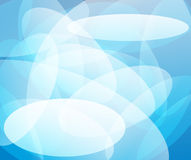 Abstract transparent blue background Stock Photography
