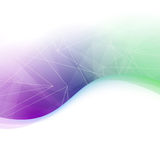 Abstract transparent colorful background Stock Photo