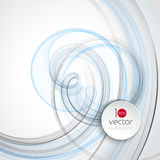 Abstract transparent fractal wave template  background brochure design Stock Photo