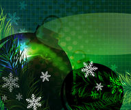 Abstract transparent holiday background Royalty Free Stock Photography