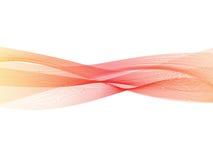 Free Abstract Transparent Orange-red Gradient Wave Background. Smoke Effect Design Element Wallpaper. Modern Design EPS10 Stock Photos - 88526263