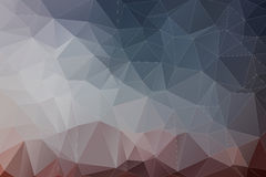 Abstract trash polygonal background Stock Image