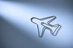 Abstract Travel Airplane Background Paper Clip Stock Images