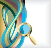 Abstract Treasure Hunt Background 2 Royalty Free Stock Photography