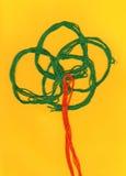 Abstract tree. The author's photo Royalty Free Stock Photo