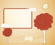 Abstract tree. (EPS 10 transparency royalty free illustration