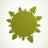 Abstract Tree Background Royalty Free Stock Image