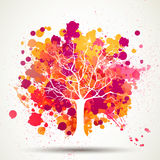 Abstract Tree Background Royalty Free Stock Images